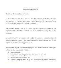 employee injury report form template vehicle accident report form auto template employee altpaper co
