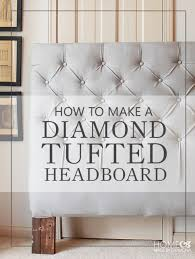 diy bedroom furniture. Make A Diamond Tufted Headboard Diy Bedroom Furniture