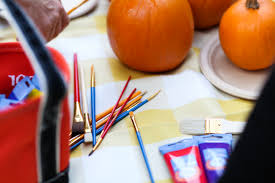 Scary Pumpkin Painting Painting Pumpkins Love Taza
