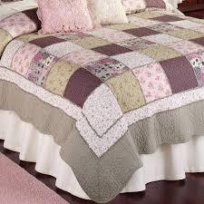 sugarplum patchwork quilt multi pastel