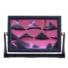3d moving sand glass art picture frame home desk decor craft