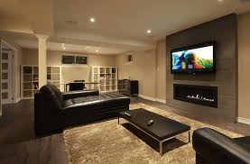 Finished Basement Ideas Concept
