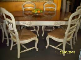 country dining room chairs. Thomasville French Dining Room Set, Table And 6 Chairs, China Cabinet $1350 Country Chairs L
