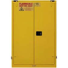 2 shelf self close standard flammable