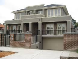 Townhouse Designs Melbourne Split Level Sloping Block Homes Optimal Homes