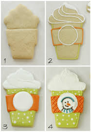 Cookie Coffee Cups Coffee Cup Cookies And Gift Card Cookie Toppers Klickitat Street