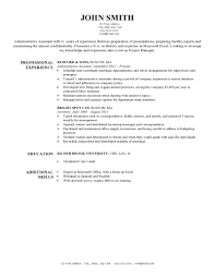 Template Resumes Resume For Your Job Application