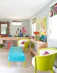 bright colorful home. 23 Colorful Home Office Designs. OMG Love These Colorssssssss Bright G