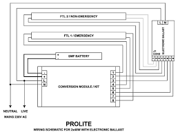 prolite manufacturers of emergency lights exit signs wiring schematic for 2x40w electronic ballast emergency lights