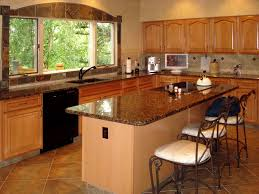 Kitchens With Saltillo Tile Floors Kitchen Tile Design Large Dream Kitchen With Dark Wood Cabinets