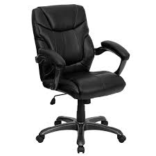 full size of chair mid back black leather overstuffed office navy blue desk high chairs