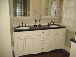 white bathroom cabinets with dark countertops. Enchanting White Bathroom Cabinets With Dark Countertops Also Double Vanity Black Collection Pictures O