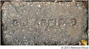 Historic Texas Brick Which May Or May Not Be Natives