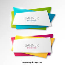 free banner backgrounds colorful banners background vector free download