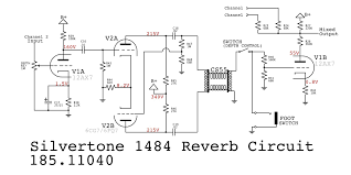 doug circuits below is the circuit for the 1484 reverb redrawn for clarity and isolate it from the rest of the 1484 circuit notice how similar it to the higher quality