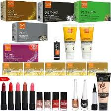 13 pieces skin care kit by vlcc and 13 pieces make up kit by belle paris kits cj