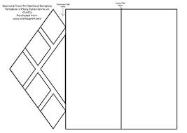 folding card template diamond front tri fold card template cu4cu cup429270_99