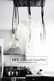 diy industrial chandelier charleston fashion blogger dannon like the yogurt
