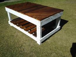 coffee table diy coffee table out of pallet wood outdoor coffee