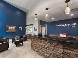 hand and stone spa photo of lobby