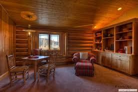 20 log home theater room 21 log home game room 22 log home entertaining 22a log home rustic bench 23 log cabin cozy bedroom 24 log home rustic bedroom