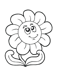 Rose Colouring Pages Children Flower Coloring Pages Of Colors In