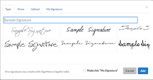 How To Do A Signature Sign Documents Online Signnow