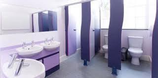 school bathroom. Typical American School Restroom For Primary-school Girls Bathroom T