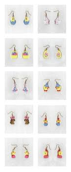 Machine Embroidery Jewelry Designs Embroidery Machine Designs Fsl Easter Earrings Set
