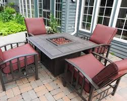Garden Furniture Fire Pit Table Interior Design