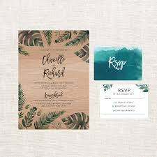 sending regrets to a wedding invitation inspirational tropical colour wooden wedding invitations sail and swan collection