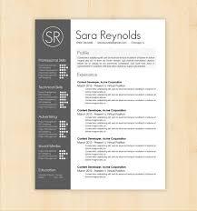 Resume Template / CV Template - The Sara Reynolds Resume Design - Instant  Download