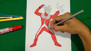 ultraman taro fight with a human coloring pages sailany coloring kids