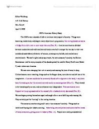 history ia what were american peoples responses to the vietnam  1920s american history essay