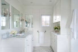 White Master Bathrooms Paneled Bathroom In Saint Davids Traditionalbathroom Intended Ideas