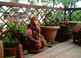 garden decoration. Balcony-garden Decoration 2_mini Garden :