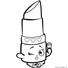 Free Shopkins Coloring Pages Coloring Sheets To Print Pages
