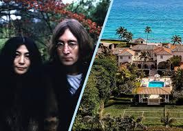 <b>John Lennon</b>, <b>Yoko</b> Ono's Palm Beach Home Sells For $36M