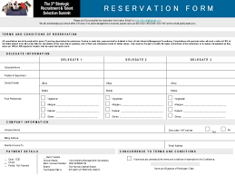 Sample Reservation Forms. Sample Fax Forms Sample Fax Forms Besik ...