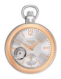 tissot pocket 1920 men s mechanical pocket watch rose gold tissot pocket 1920 men s mechanical pocket watch rose gold pvd case silver dial and chain