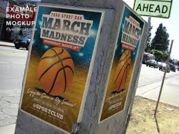 March Madness Basketball Flyer Template - Flyerheroes