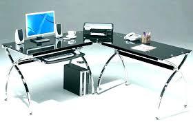l glass desk glass desk staples glass desk l shaped furniture glass rh annawojdecka com staples office supply computer desk w hutch staples office supply