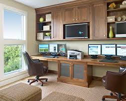 double desk home office. Home Office Design For Two People Best Double Desk Interior Beautiful