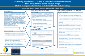 Partnering with Political Leaders to Evaluate Recommendations for  State-Level Mental Health Policy Change: The Role of Responsive,  Participatory Evaluation. - ppt download