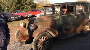 Classic 1928 Chevrolet National Sedan Barn Find For Sale ...