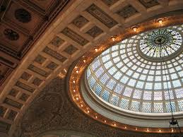 world s largest tiffany stained glass dome review of chicago cultural center chicago il tripadvisor