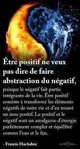 être Positif Ne Veux Pas Dire De Faire Abstraction Du Négatif