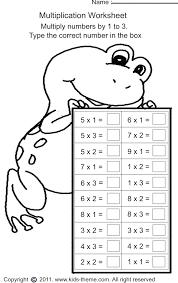 Math Worksheets For Grade 2 Multiplication Worksheets for all ...