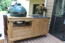 how to build a rolling cart for your grill