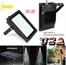 Solar Led Garden Lights Ebay Solar Power 150 Led Flood Light Sensor Motion Activated Outdoor Garden Lamp